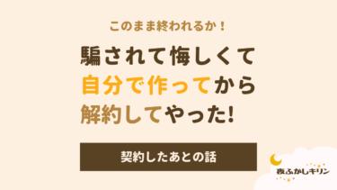 【後編】ホイホイ契約したお店のホームページが100万円だった!?